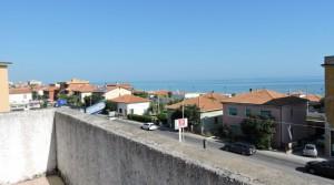 Penthouse met zeezicht en ruime terrassen