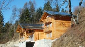 Panoramisch gelegen nieuwbouw alleenstaande woning in hout met bos