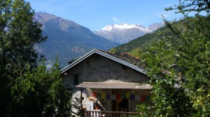 Berghuis in de Aosta vallei