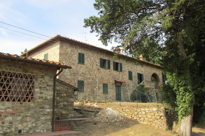 Deel van Toscaanse villa te koop