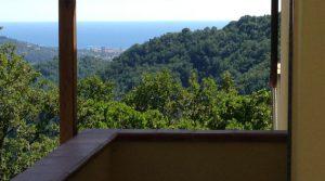Ruime villa met zeezicht in Ligurië