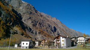 Volledig te renoveren dorpswoning in de Aosta vallei
