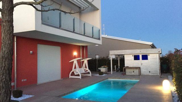 Villa met zwembad te koop Jesolo Veneto