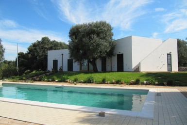 villa met zwembad te koop in Puglia