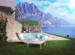 Villa met zwembad te koop Iseomeer Italie