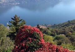 Huis met zicht op het Como-meer