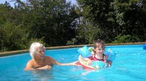 Enjoying Pool ok