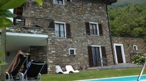 villa met zwembad como meer te koop