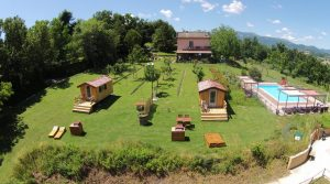 Fantastische, zeer goed draaiende Agriturismo met Appartementen, Glamping en camping.