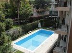 Bordighera Ligurie appartement met zwembad te koop 24