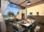 stenen villa met zwembad te koop cortona toscane 1