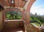 stenen villa met zwembad te koop cortona toscane 6