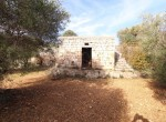 Terrein met te renoveren trulli te koop in Ostuni, Puglia 12