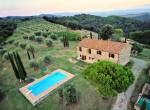 boerderij met olijfgaard te koop in Toscane, Civitella Paganico
