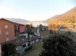 il castello cannero riviera.uitzicht naar het Lago Maggiore