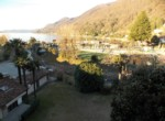 il castello cannero riviera.zonsopgang voorjaar