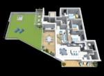 tropea penthouse met zeezicht zwembad te koop 9