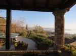 Umbrie te koop - stenen huis met uitzicht op trasimeno meer 12