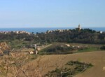 Altidona - huis in opbouw met zeezicht te koop in Le Marche 21