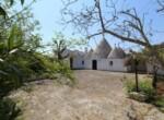 Ceglie Messapica - Karakteristiek trullo complex in Puglia 1