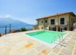 Appartement met zicht op comomeer en zwembad - Domaso 1