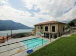 Appartement met zicht op comomeer en zwembad - Domaso 12