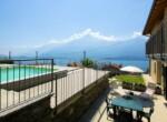 Appartement met zicht op comomeer en zwembad - Domaso 14