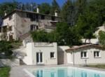 Todi Umbria - domein met landhuis en zwembad te koop 1