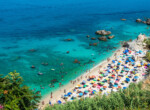 Michelino,Beach,In,Parghelia,Near,Tropea,During,Summertime,,Calabria,,Italy.