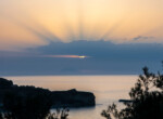 Parghelia,Beach,,,Calabria,Italy.,Beautifull,Sunset,With,Silhouette.