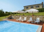 Montecatini Val di Cecina villa met zwembad te koop 2