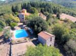 Massa Marittima - agriturismo met zwembad in Toscane te koop 2