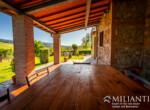 Volterra stenen landhuis te koop in Toscane 10