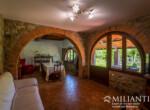Volterra stenen landhuis te koop in Toscane 9