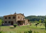 Toscane stenen landhuis met zwembad te koop bij Volterra 1