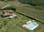 Toscane stenen landhuis met zwembad te koop bij Volterra 2