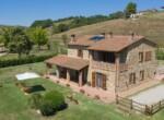 Toscane stenen landhuis met zwembad te koop bij Volterra 3