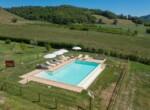 Toscane stenen landhuis met zwembad te koop bij Volterra 5