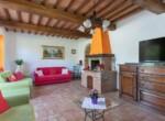 Toscane stenen landhuis met zwembad te koop bij Volterra 9
