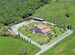 vakantie-accommodatie met zwembad bij Volterra - Toscane te koop 16