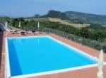 vakantie-accommodatie met zwembad bij Volterra - Toscane te koop 5